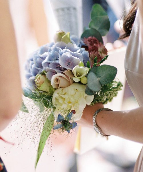 Maids-bouquet-powder-blue-dusky-pink-white-Larkspur-Floral-Design-Florist-Cambridge-UK