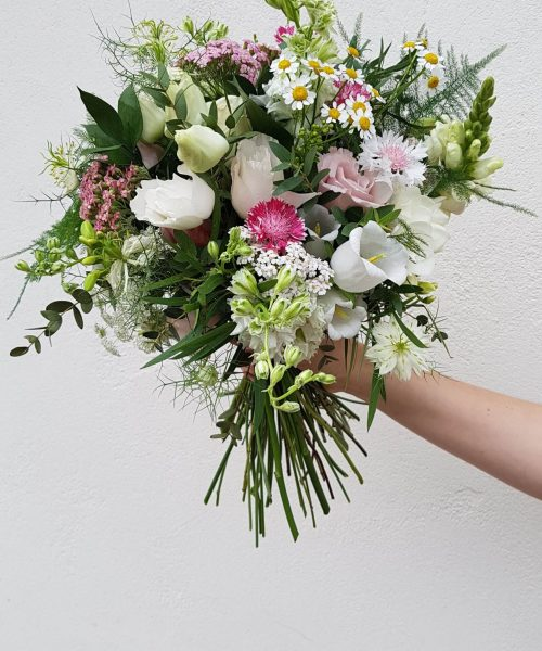 bridal meadow flowers bouquet