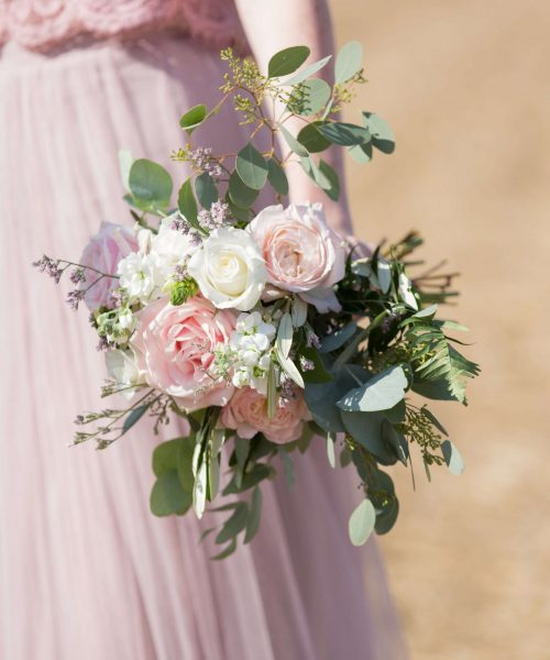 loose-naturalistic-posy-white-&-soft-pink-Bassmead-Manor-Larkspur-Floral-Design-Florist-Cambridge-UK